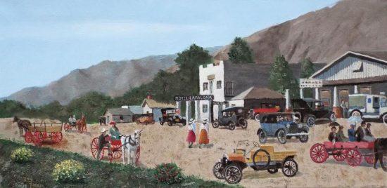 Ron Backer, South Palm Canyon Drive