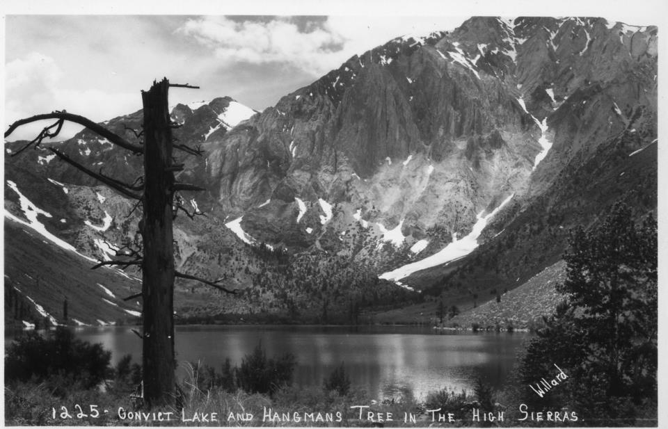Stephen Willard, Convict Lake and Hangman's Tree
