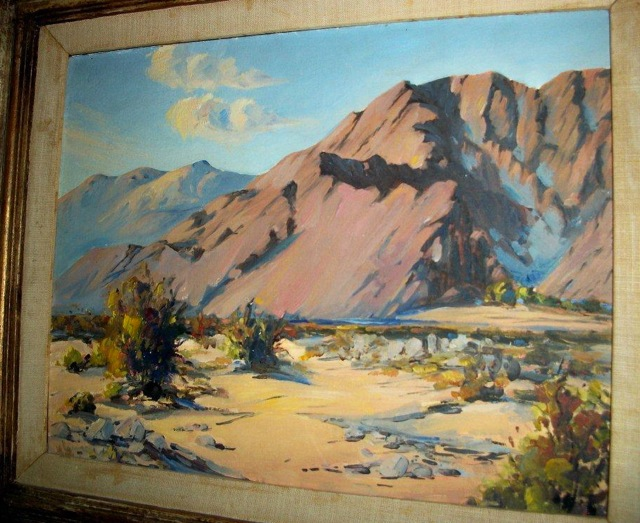 Tahquitz Canyon, possibly by William Darling