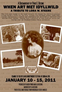 Film About Idyllwild Arts Legend Lora Steere Opens January 10th