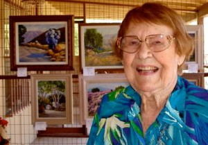 Smoketree Painter Sally Ward Dies
